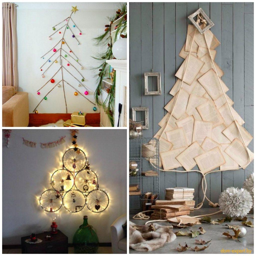 Самые безумные варианты новогоднего декора (+ 40 елок, сделанных буквально из ничего)