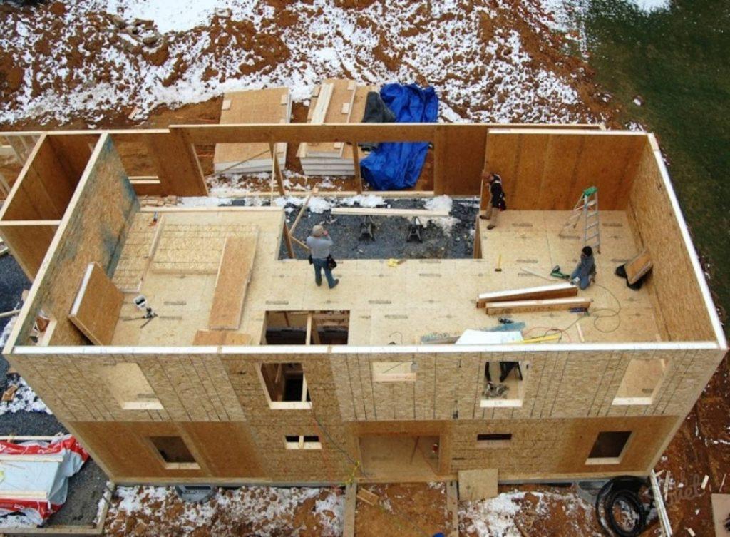 Проект дешевый дом своими руками 927