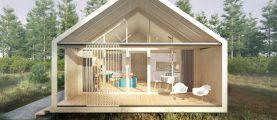 Проект модульного дома HOUSE-A