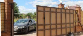 Как самому сделать откатные ворота в два раза дешевле заводских?