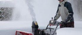 Помощники в уборке снега