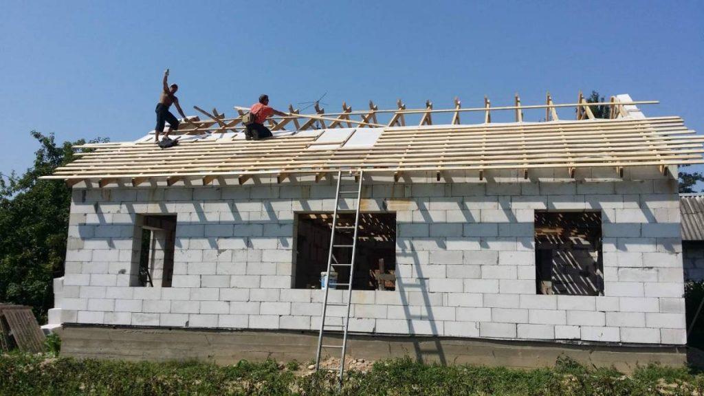 Дом, построенный «в одни руки». От проекта до внутренней отделки — за 7 месяцев и 11 000$