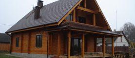 Деревянный дом 187 м2. От эскиза до ключа