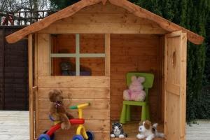 Как построить детский домик за $200?