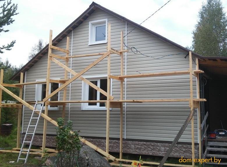 Как утеплить деревянный дом обложенный кирпичом снаружи