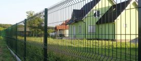 Сколько стоит забор из сетчатых 3D-панелей?