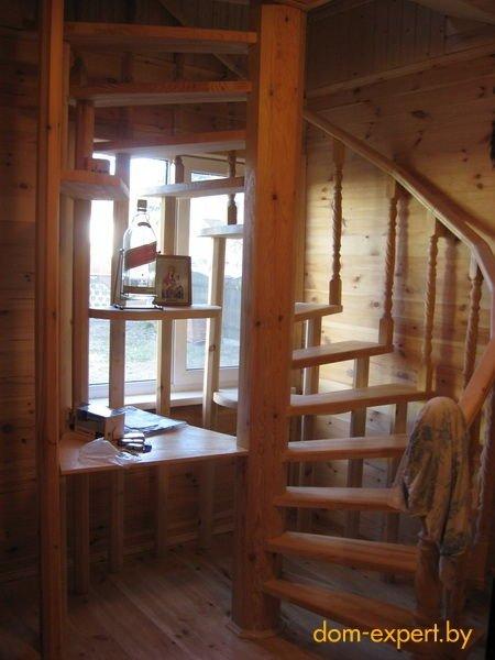 Лестница на веранде на второй этаж своими руками