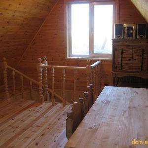 Комната отдыха на втором этаже (мансардный этаж).