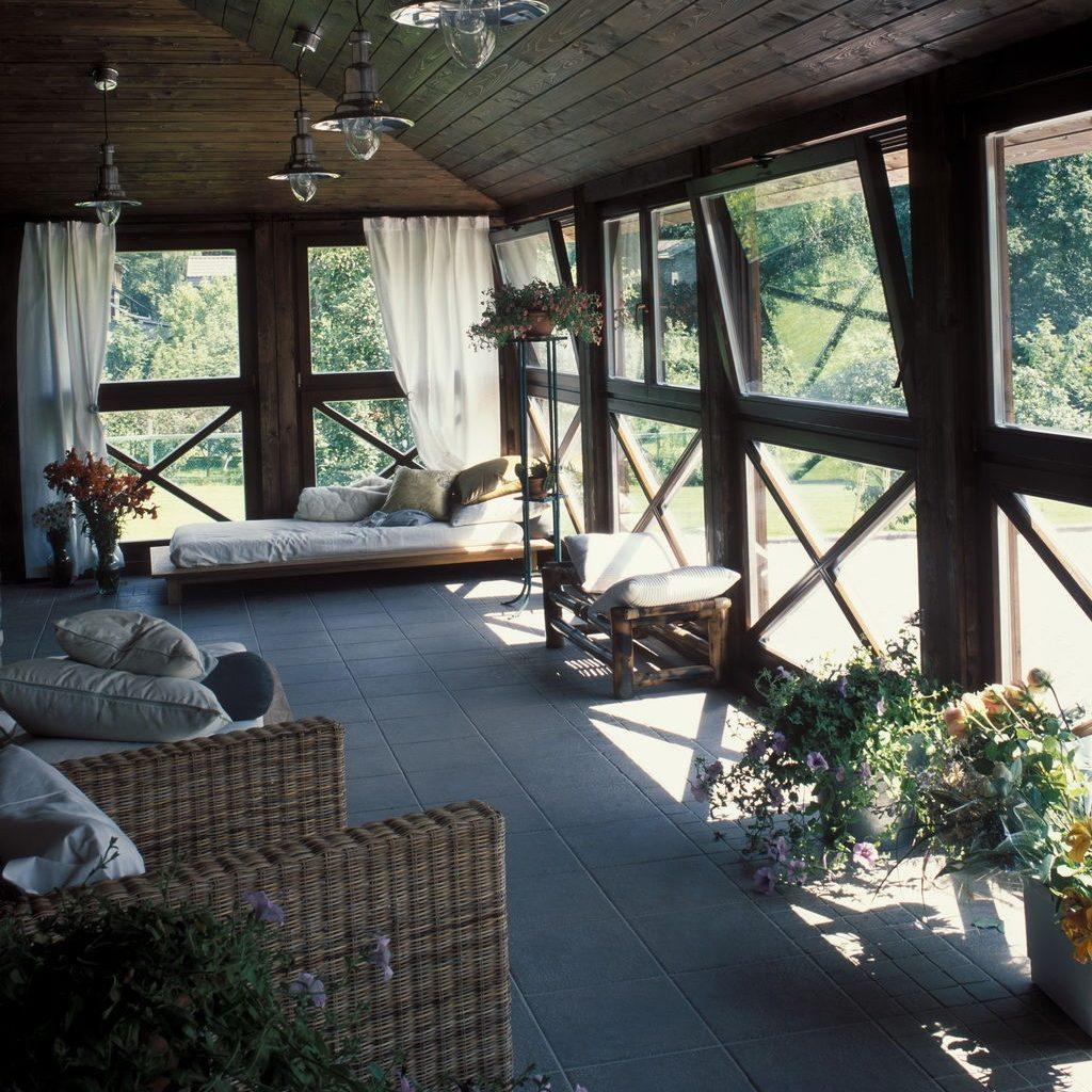 """Как обустроить уютную террасу с окнами"""" - карточка пользоват."""