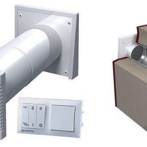 Приточно-вытяжная система вентиляции: для чего она нужна?