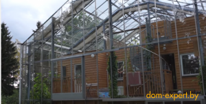 Энергоэффективность: теплица для дома