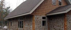 Как построить дом из дров?