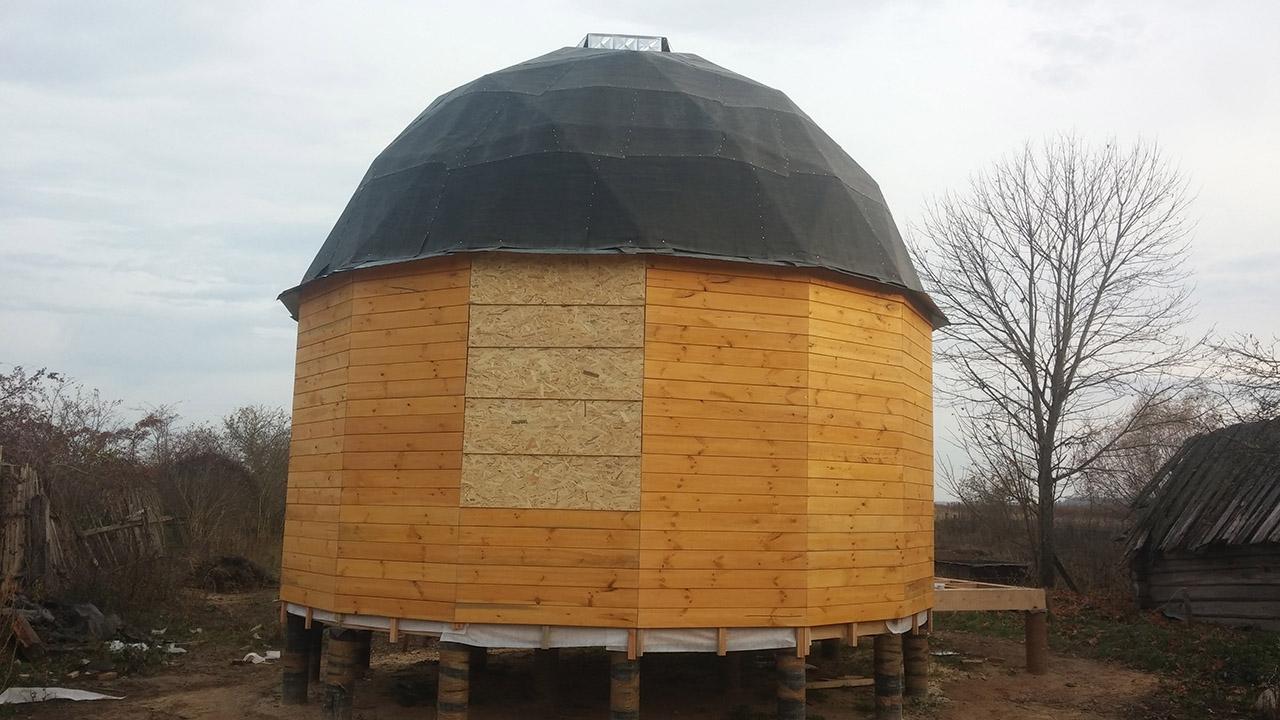 Купольный эко-дом под Минском. Конструктор делится опытом строительства уникального жилья