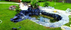Декоративная водная система на участке