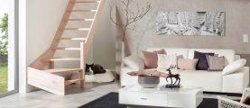 Как и чем покрывать деревянные ступени лестниц?