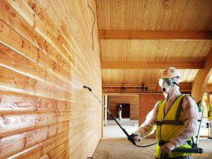 Защита для деревянного дома: антисептики и краски