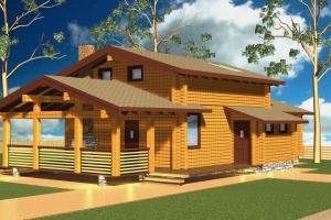 Новая форма традиционного дома