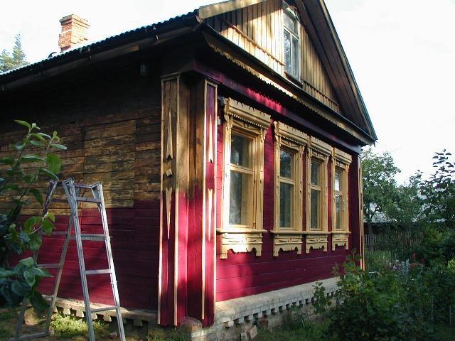 Будем красить: ремонт деревянных фасадов