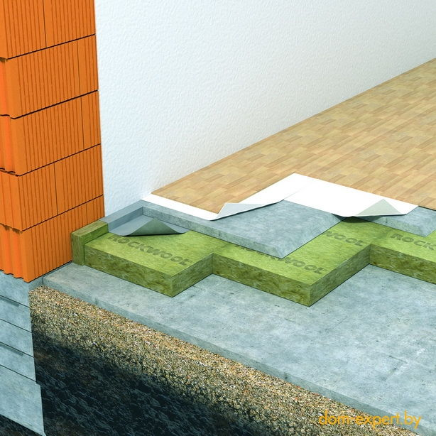 Рулонная шумоизоляция потолка в квартире
