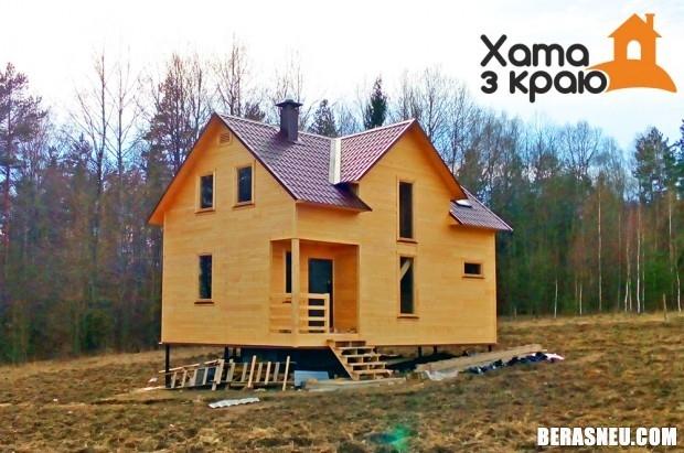 Як мы выбіралі, якім бокам паставіць дом на участку