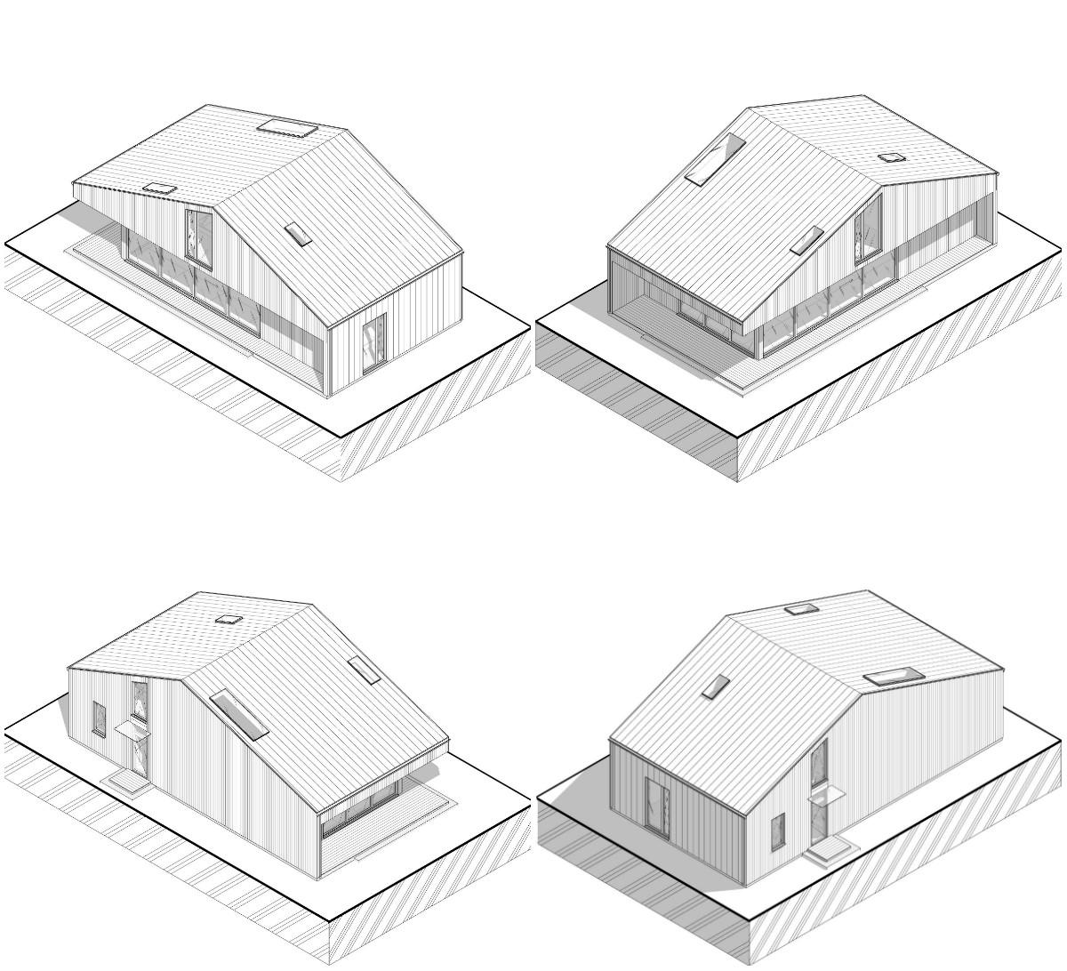 hilltop residence изометрический вид