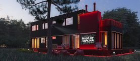 В гостях у Дракулы. Кроваво-красный дом для любителей кино — от 385 у.е. за квадрат
