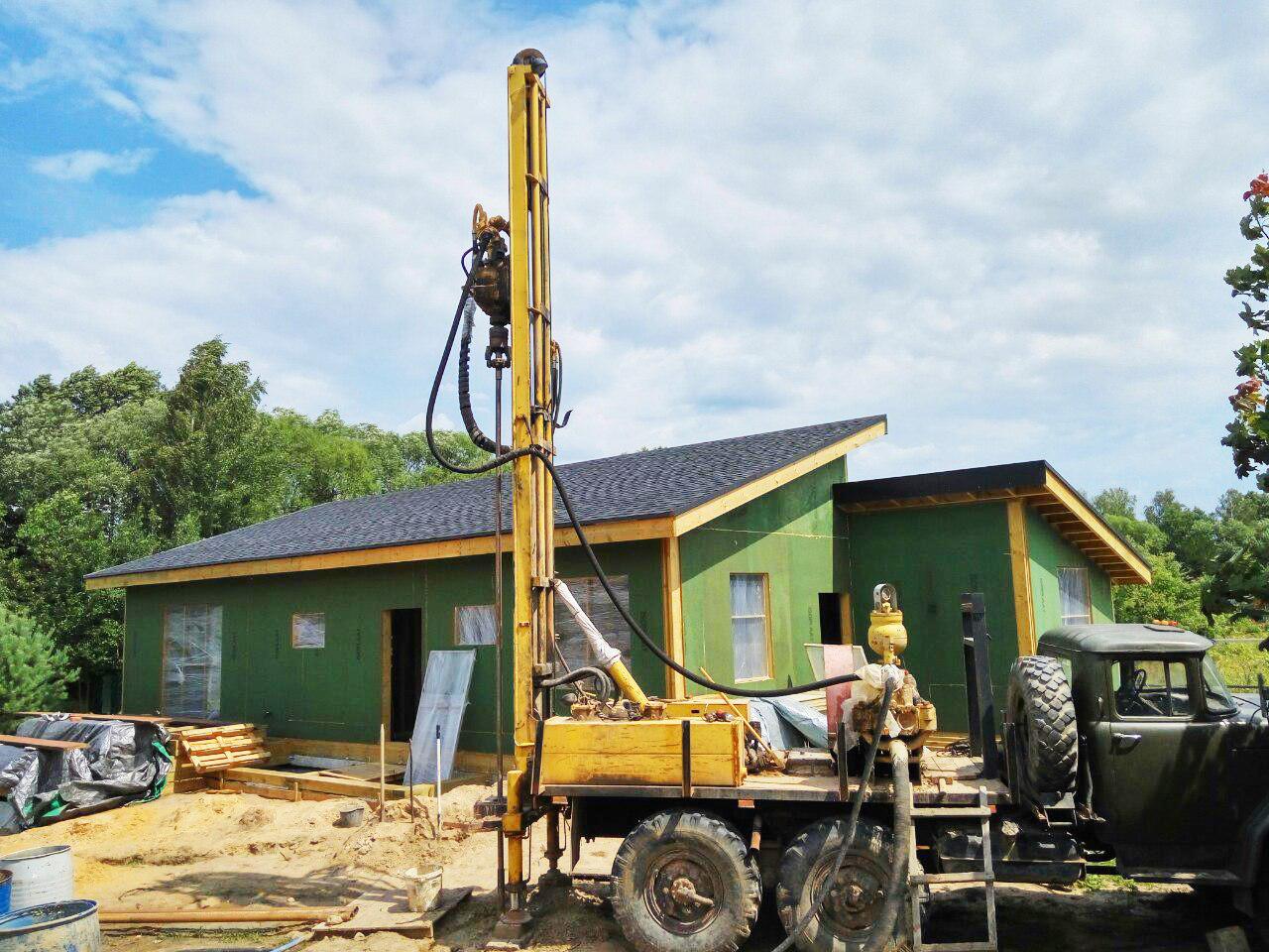 строительство каркасных домов минск