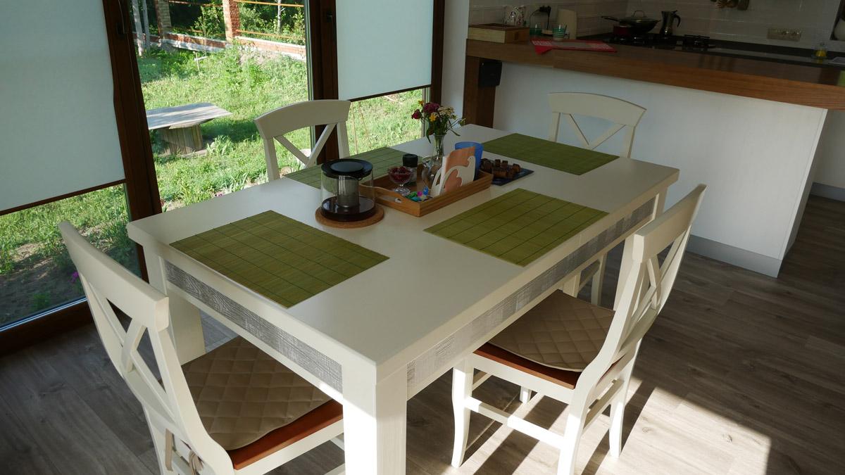 кухня веранда каркасный дом