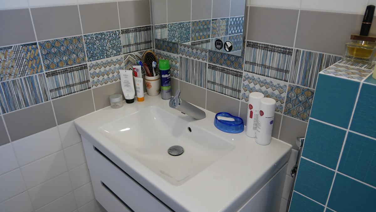 ванная в каркасном доме