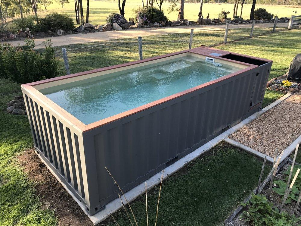 бассейн контейнер