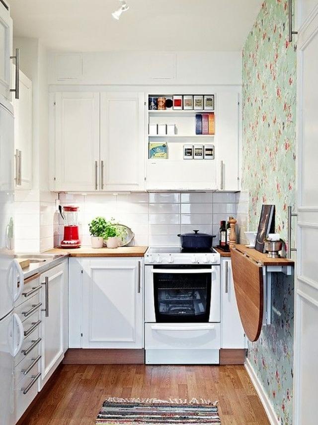 Увеличиваем пространство маленькой кухни: 15 лайфхаков от дизайнера