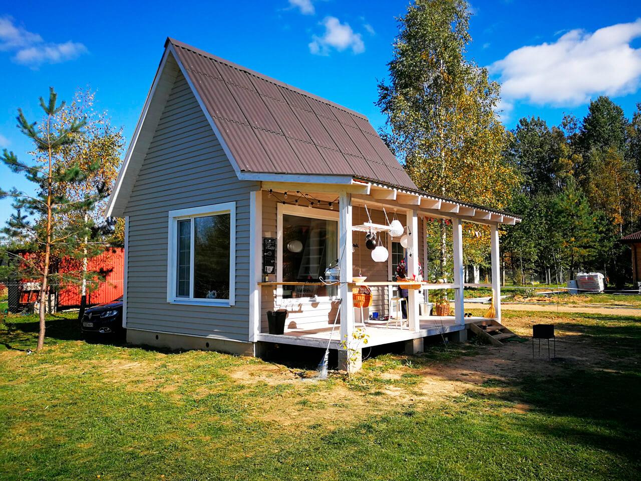 повышения проект небольшого дачного домика с террасой фото популярен