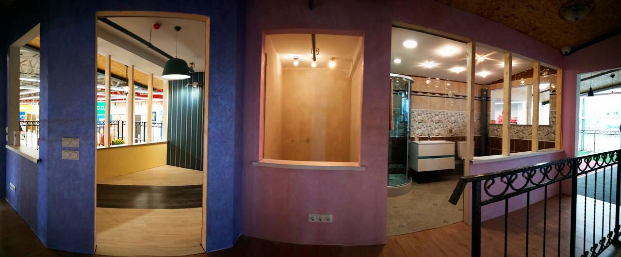 Дом внутри дома, скидки в 55% и сервис «101». Чем удивил новый строй-гипермаркет «ОМА»