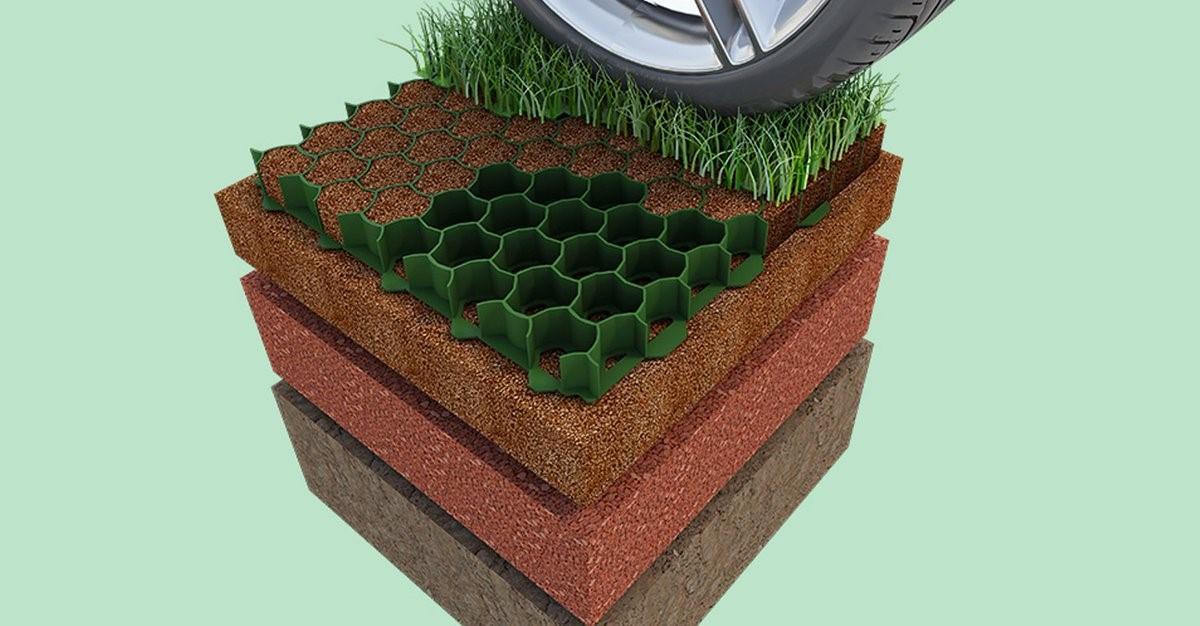 Экопарковка – зелёный ковёр для вашего автомобиля