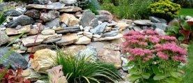 Альпийская горка – рукотворный сад на камнях