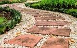 Изготовление садовой дорожки без привлечения профессионалов
