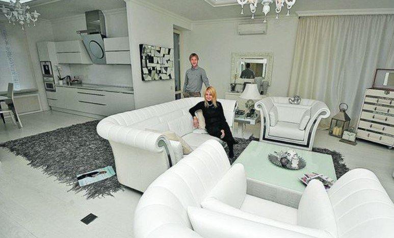 Дом Плющенко и Рудковской