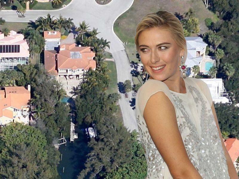 Мария Шарапова: как выглядит жилплощадь известной теннисистки
