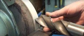 Правильная заточка сверла по металлу и по бетону