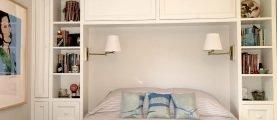 Для чего можно использовать нишу в спальной комнате
