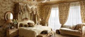 Спальня в английском стиле – обаяние консерватизма