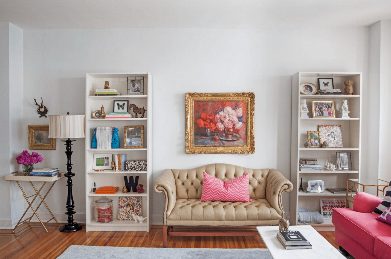 Как выбрать стеллаж в гостиную