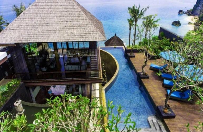 Вилла Максима Фадеева, расположенная на Бали
