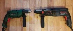 Как сделать выбор между перфоратором и ударной дрелью
