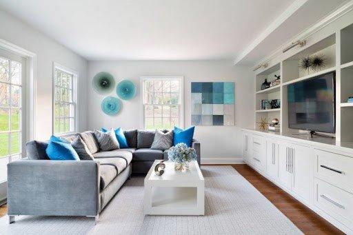 Интерьер гостиной: правила сочетания цветов