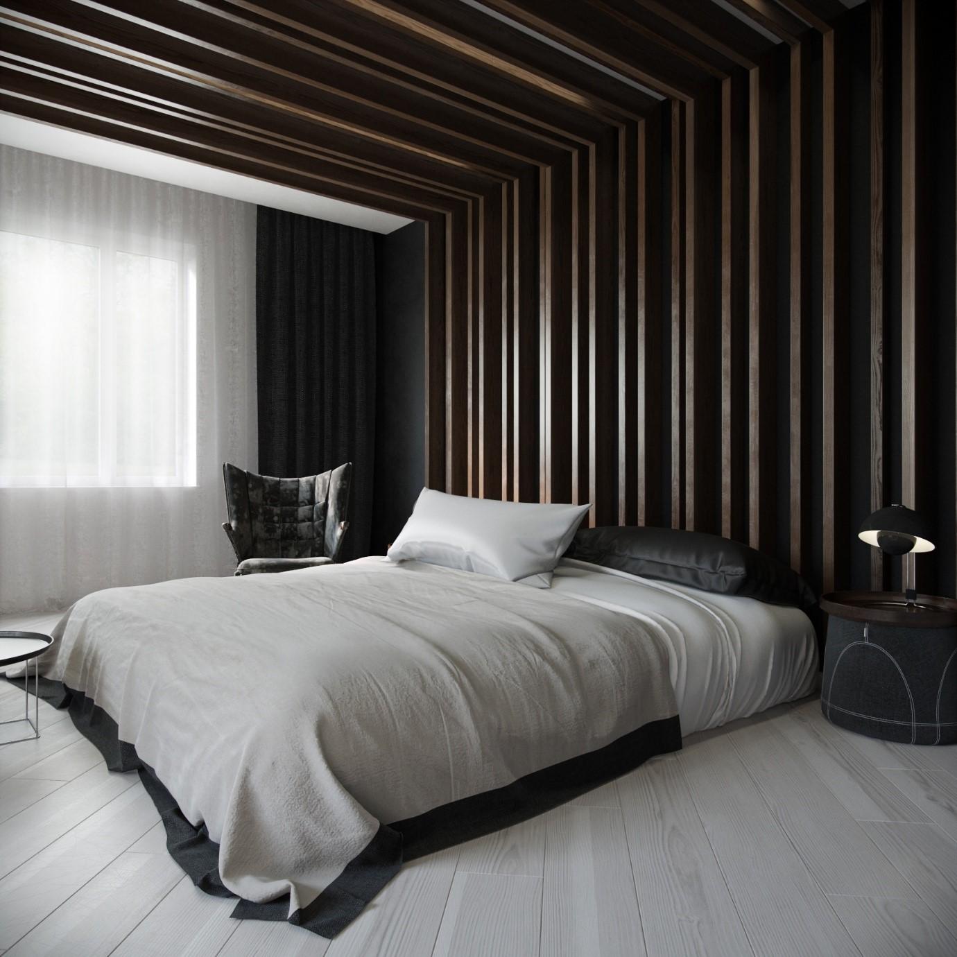 Дизайн спальни для настоящего мужчины