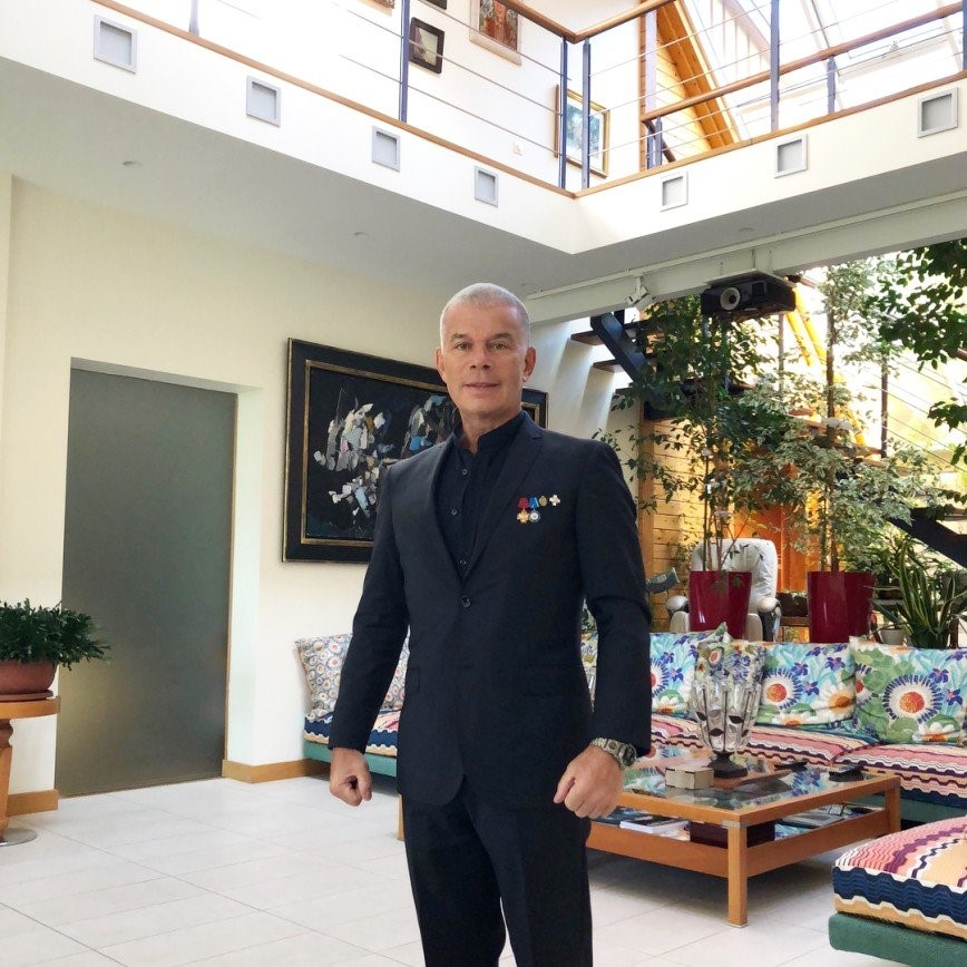 Место жительства талантливого российского исполнителя Олега Газманова