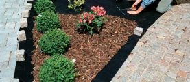 Какой материал подходит для садового участка и как побороть постоянно растущие сорняки