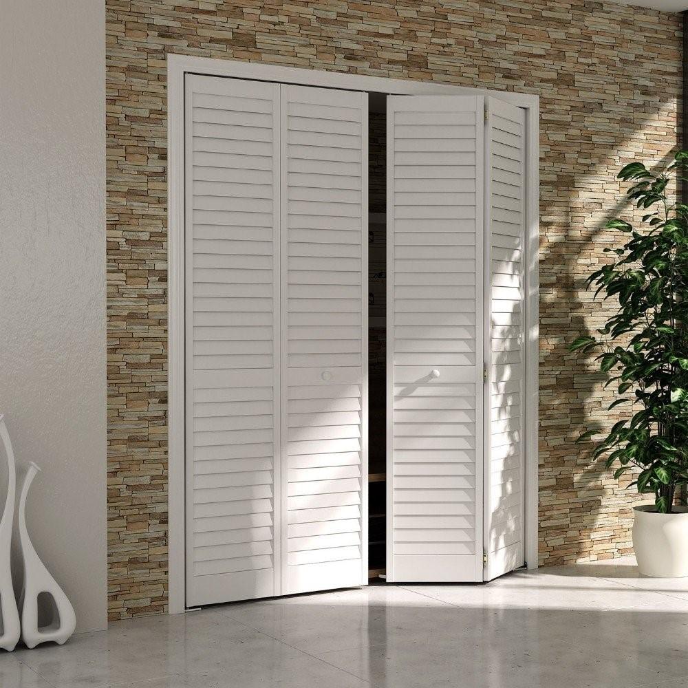 Разновидности жалюзийных дверей: материалы и применение