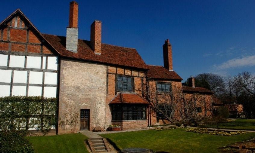 Усадьба Уильяма Шекспира в Стратфорде